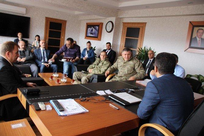 Varto'da Kurum Amirleri Toplantısı
