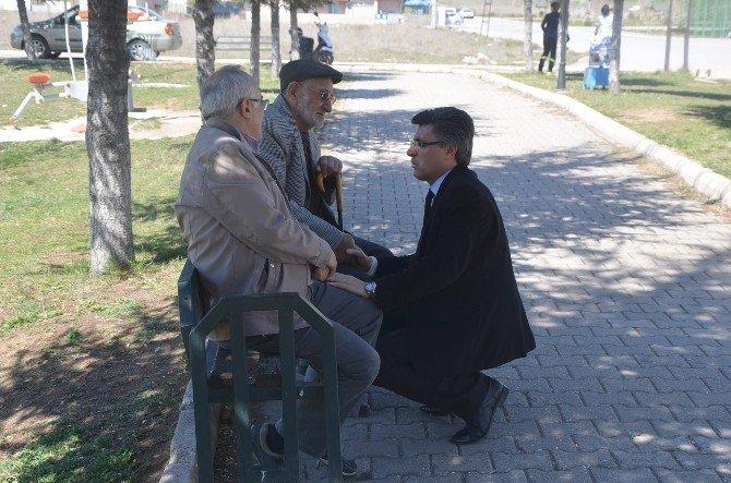 Başkan Yardımcısı Ali Avcıoğlu, Peyzaj Ve Çevre Düzenleme Çalışmalarını Yerinde İnceledi