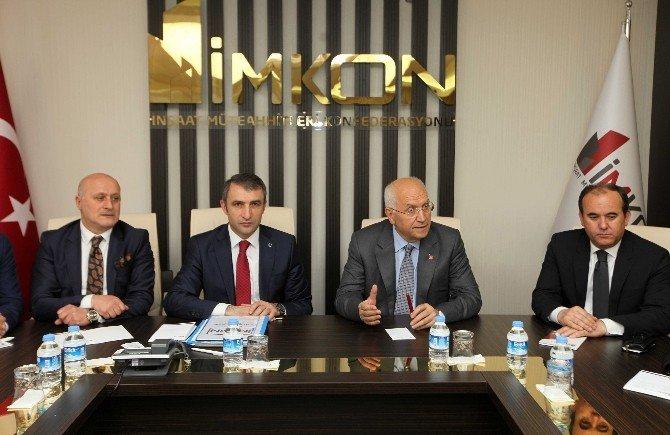 Yenimahalle Belediye Başkanı Yaşar, İnşaat Müteahhitlerini Dinledi