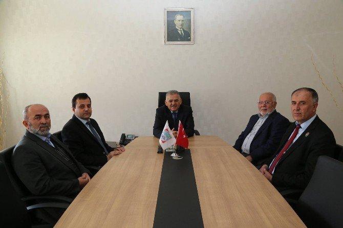 Şehit Ve Gaziler Melikgazi Belediyesi'ni Ziyaret Etti