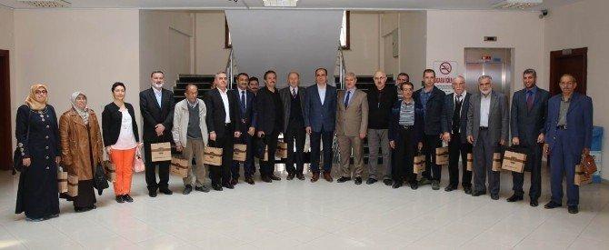 Başkan Altay Yazarlar Birliği İle Bir Araya Geldi