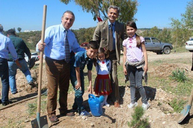 """""""Hemofili Hastaları Hatıra Ormanı""""nda 2 Bin Ağaç Umutla Büyüyecek"""