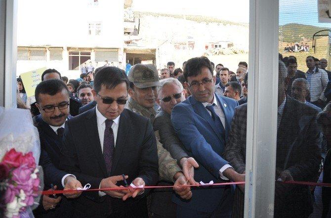 Sincik Halk Kütüphanesi Hizmete Açıldı
