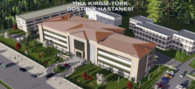 Bişkek Kırgız Türk Dostluk Hastanesi Protokolü İmzalandı