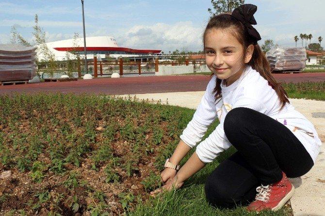 Büyükşehirli Minikler'den EXPO 2016'ya Çiçek Bahçesi