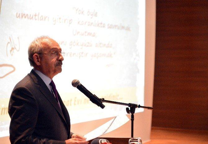 Kılıçdaroğlu, Şişli'de Nazım Hikmet Kültür Ve Sanat Evi Açılışına Katıldı
