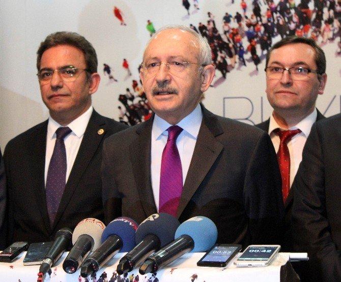 CHP Genel Başkanı Kılıçdaroğlu'ndan Reza Zarrab Açıklaması: