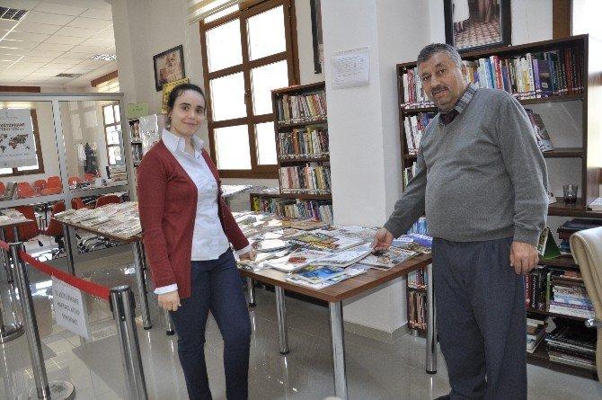 """Dörtyol'da Kütüphane Haftasında """"Kitap Sergisi"""" Açıldı"""