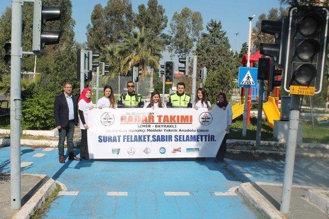 Liseli Gençler Trafik Güvenliği İçin Harekete Geçti