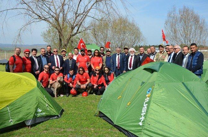 STK'lar İnönü'de Çadır Kurdu