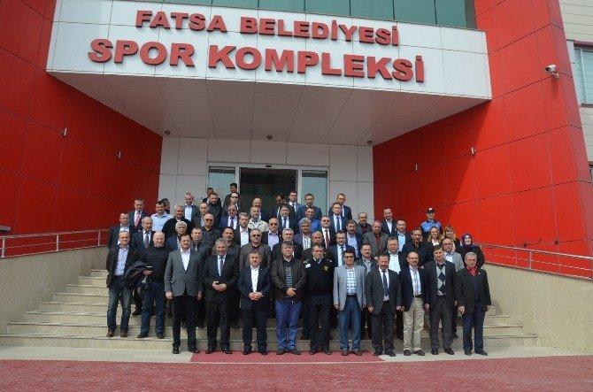 Fatsa'da İlçe Güvenlik Danışma Kurulu Toplantısı