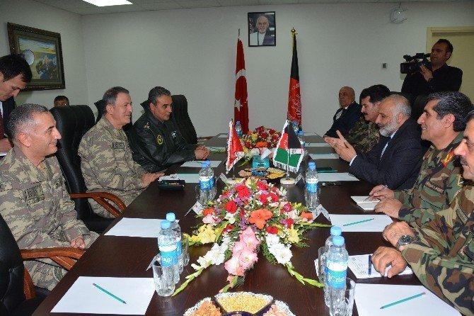 Genelkurmay Başkanı Orgeneral Akar, Afganistan'ı Ziyaret Etti