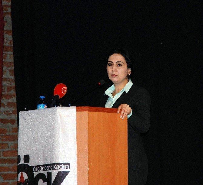 Figen Yüksekdağ, Ögk'nın Kadın Konferansına Katıldı