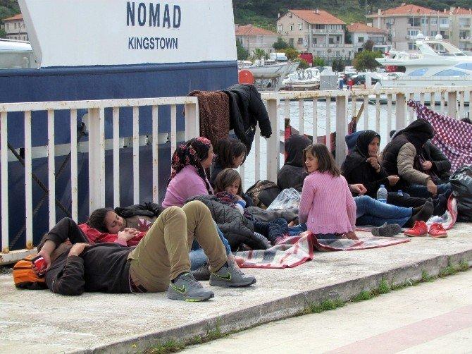 Sığınmacıların Kaçma Çabaları Bitmek Bilmiyor