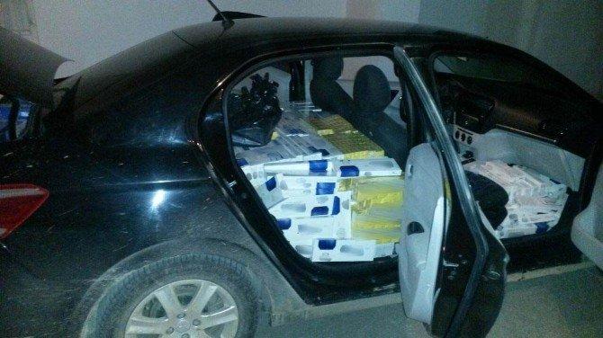 Erzincan'da 10 Bin Paket Kaçak Sigara Ele Geçirildi