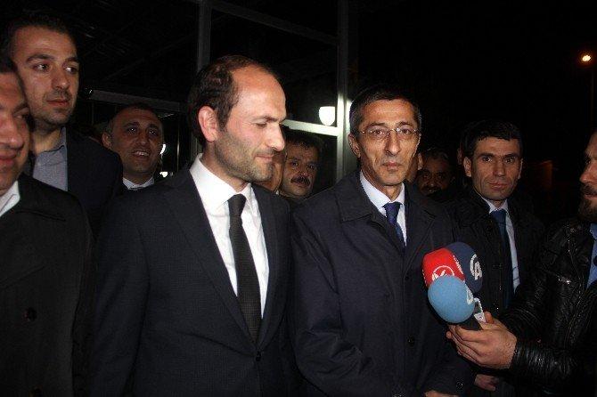 Teröristlerin Elinden Kurtulan İspir İlçe Başkanı, Erzurum'da
