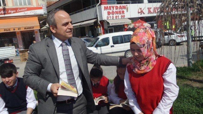 Tosya'da Kütüphane Haftası İlginç Etkinlikle Kutlandı