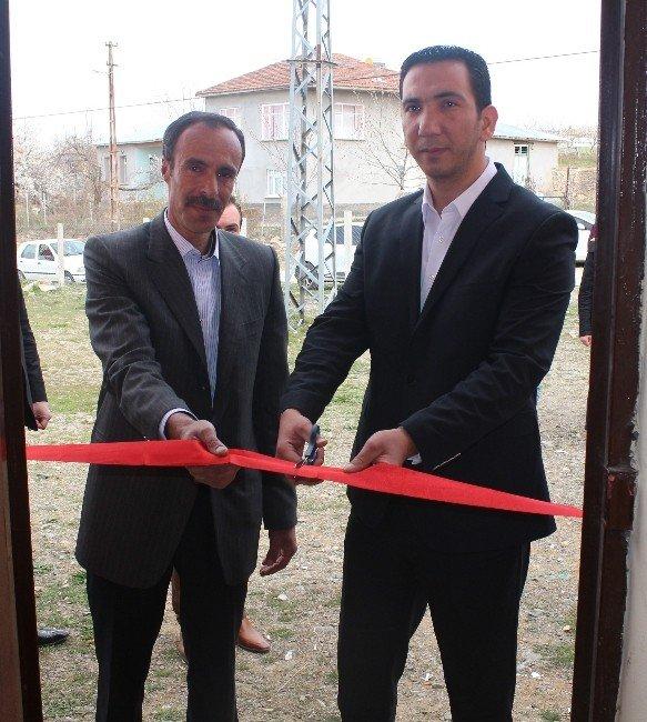 Elazığ Sarılı Köyünde Kütüphane Açıldı