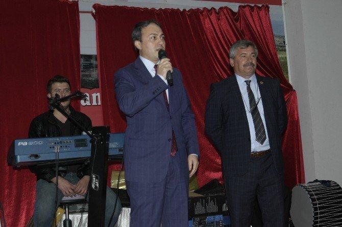 Malkara Muhtarlar Derneği Başkanı Temurtaş'tan Kaymakama 'Hoşgeldin' Yemeği