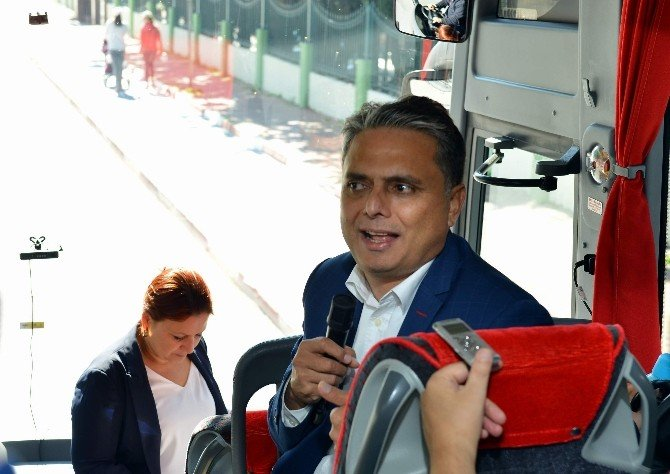 Başkan Uysal'dan Hizmet Turu