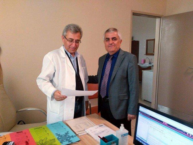 Sağlık Bakanlığı Dr. Oğrağ'ı Ödüllendirdi
