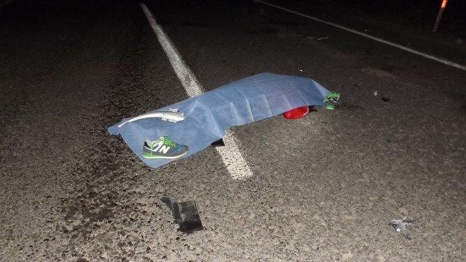Otomobilin çarptığı motosikletteki liseli hayatını kaybetti