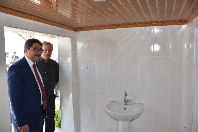 Başkan Çelik Çamköy'de Belediye Hizmetlerini İnceledi