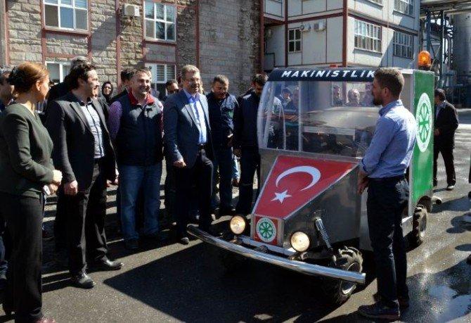 ERÜ Öğrencilerinin İcatları Kayseri Şeker'de Görücüye Çıktı