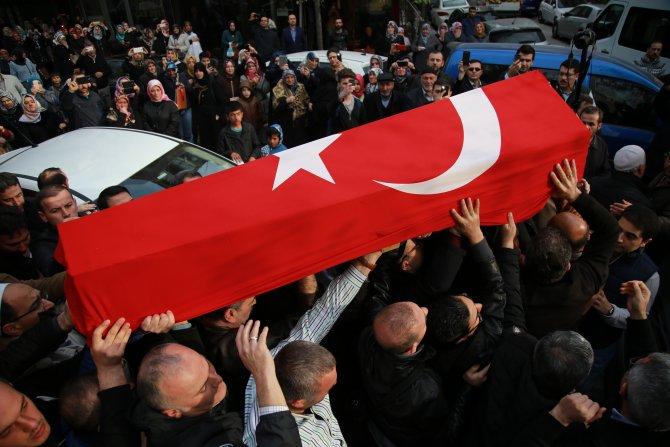 Terör kurbanı eğitim gönüllüsü ebediyete uğurlandı