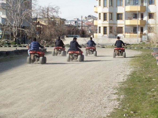 Van'da Bulunan TEK Atv Karting Herkesin Eğlencesi Oldu