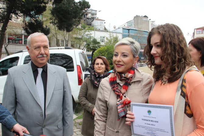 Zonguldak'ta 3 öğrencinin 'kuş evleri projesi' büyük beğeni gördü
