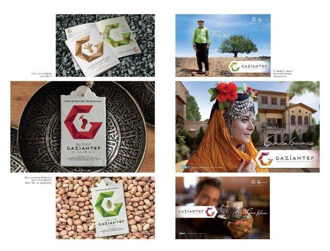 Gaziantep Logosuna Emrah Yücel İmzası
