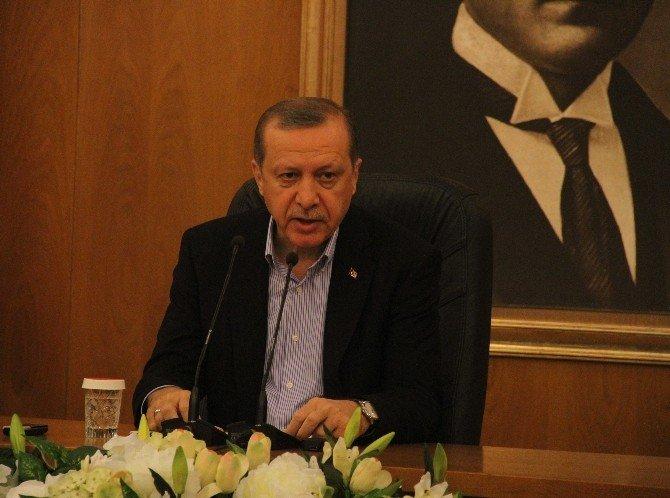 """Cumhurbaşkanı Erdoğan: """"PKK, YPG, Asala Ve Paralel Yapı Temsilcilerinin Yan Yana Olduğunu Gördüm"""""""