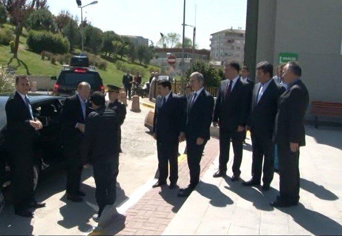 Cumhurbaşkanı Erdoğan, ABD Dönüşü Dünürünü Ziyaret Etti