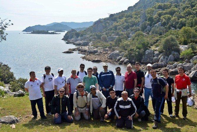 'Likya Yolu' Nda Alternatif Turizm Yürüyüşü