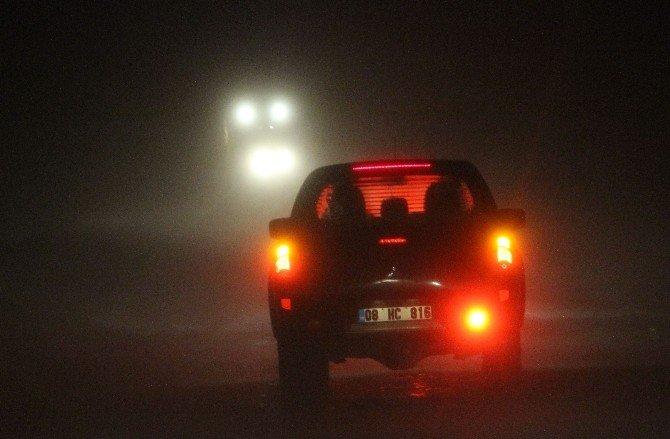 Ardahan'da Kar Ve Tipi Ulaşımı Felç Etti