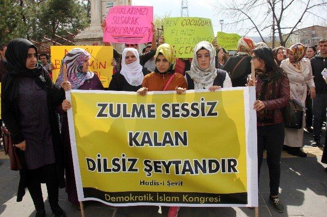 Cinsel İstismar Olayı Protesto Edildi