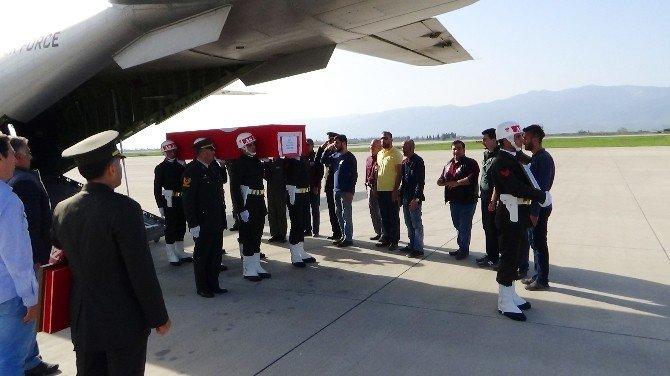 Şehit Uzman Çavuş Aycan Özdil'in Naaşı Edremit'e Getirildi