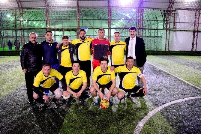 Geleneksel Halı Saha Futbol Turnuvası'nda Finalistler Belli Oldu