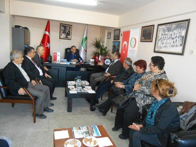 Eskişehir MHP İl Teşkilatı'ndan Çiftelerliler Derneği'ne Ziyaret