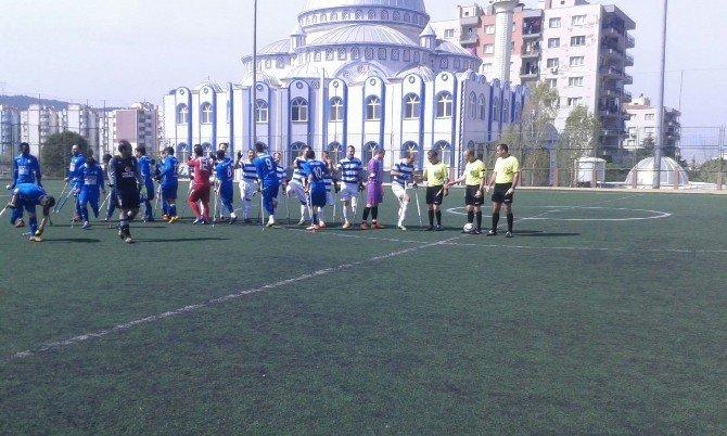 Şahinbey Ampute Futbol Takımından Farklı Galibiyet