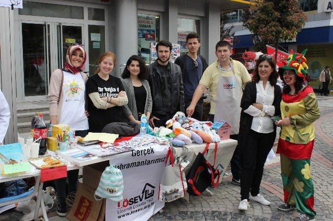 Edirne'de Kanser Standı