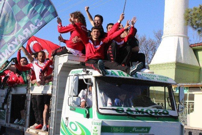 Kamyon Kasasında Şampiyonluk Kutlaması