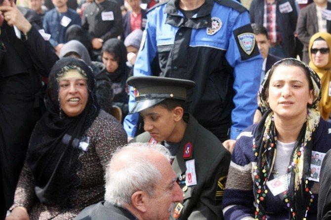 Nusaybin Şehitleri Gözyaşlarıyla Uğurlandı