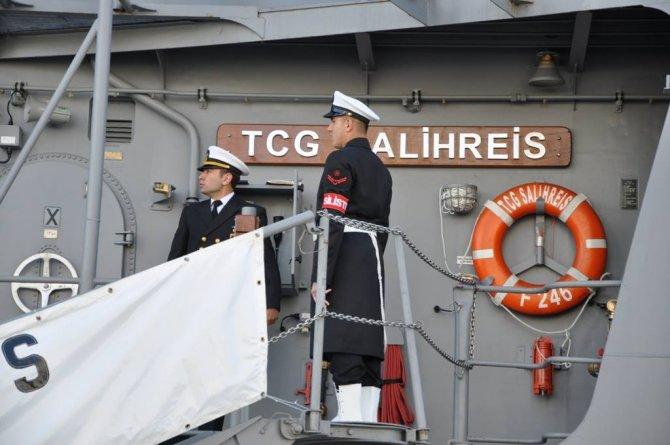 Türk savaş gemileri Ukrayna'da