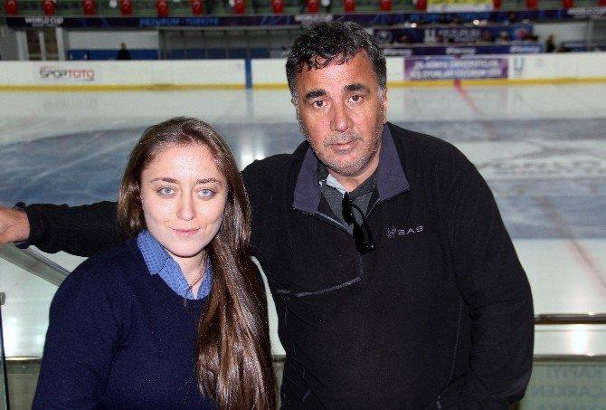 Erzurum'da Artistik Paten Teşvik Yarışması'nda Küçük Sporcular Nefes Kesti