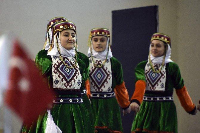 Halk Oyunları Grup Müsabakaları Gümüşhane'de Yapıldı