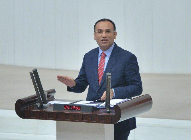 HDP'nin Bakan Bozdağ Hakkında Verdiği Gensoru Önergesi Kabul Edilmedi