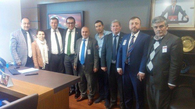 Korkut; Çaturoğlu Ve Demirtaş'ı Ziyaret Etti