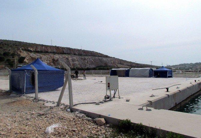 Geri Kabul Anlaşması Kapsamında Çeşme'ye Sığınmacı Gelmedi